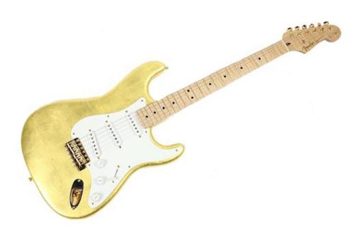 Kitara Erica Claptona - Gold Leaf Stratocaster