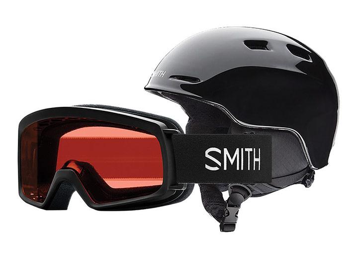 Otroška smučarska čelada Smith Zoom in očala Smith Rascal